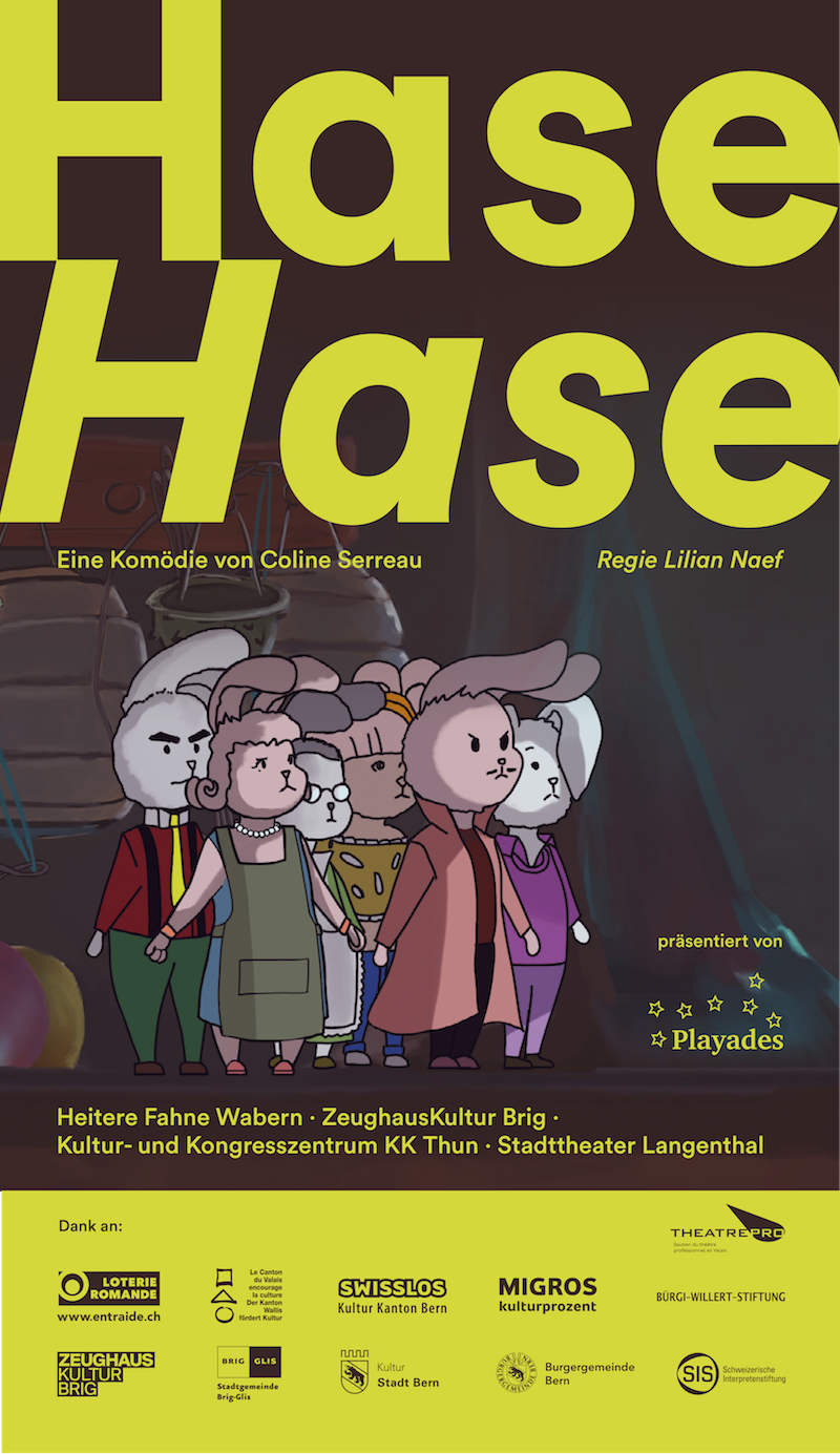 Flyer Hase Hase