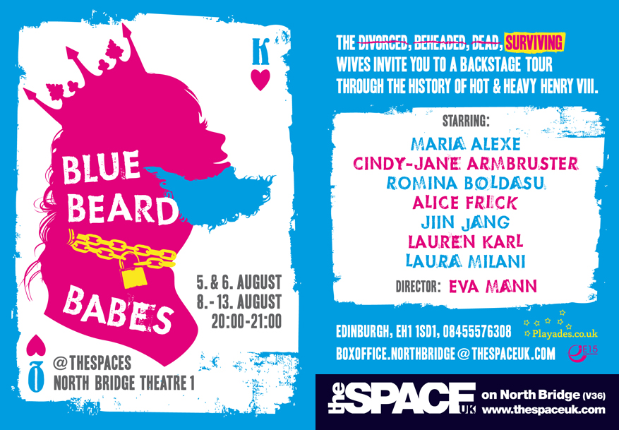 Blue Beard Babes Flyer